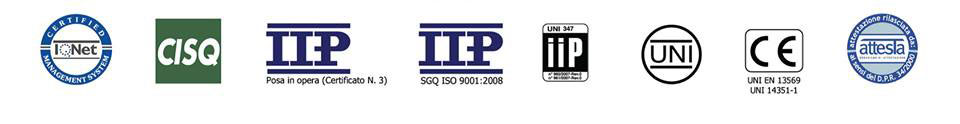 certificazioni PVC