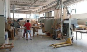 foto fabbrica king infissi legno