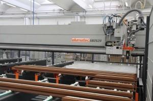 nuova fabbrica PVC tutta automatizzata con due linee di produzione