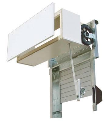 Avvolgibile tradizionale in pvc e alluminio e monoblocco