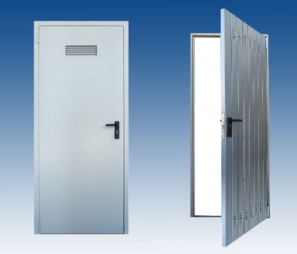 Porte da cantina zincate e pre-verniciate